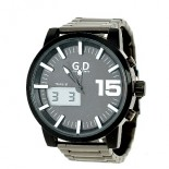 WATCHES for Man - Stainless Steel Bracelet - White Background