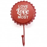 Décoration murale - Porte manteau - ' Love your love the most '