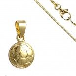 Collier pour femme - Ballon de football